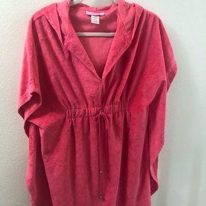 Hot Pink Towel Tunic